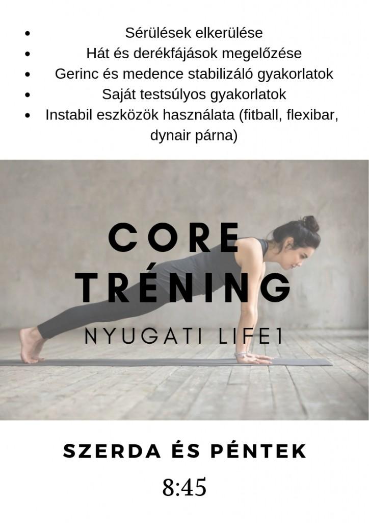 core tréning