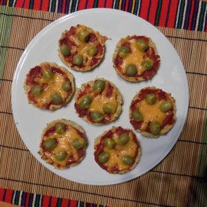 mini pizza recept