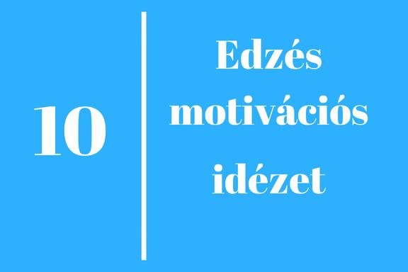 edzés motiváció