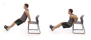 tricepsz edzés otthon